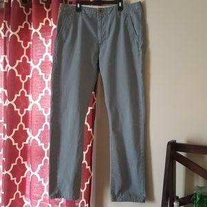 🌸Men's Grey Levi's Khakis Size 34W X 32L